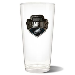 Philadelphia Eagles Super Bowl Champions 22-Oz. Pint Glass