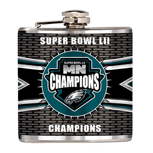 Philadelphia Eagles Super Bowl Champions 6-oz. Hip Flask