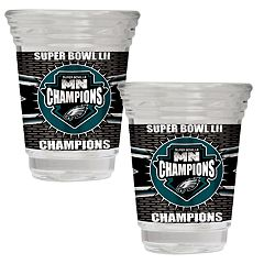 Philadelphia Eagles Super Bowl Champions 2-oz. Party Shot Set
