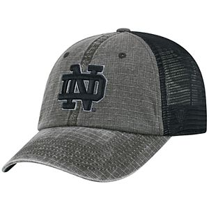 Adult Top of the World Notre Dame Fighting Irish Ploom Ripstop Cap