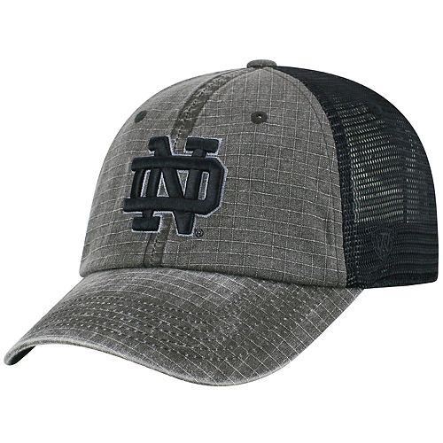 1c515a3b76959 Adult Top of the World Notre Dame Fighting Irish Ploom Ripstop Cap