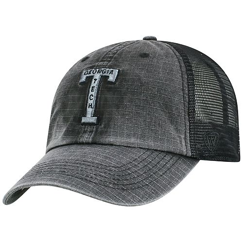 Adult Top of the World Georgia Tech Yellow Jackets Ploom Ripstop Cap