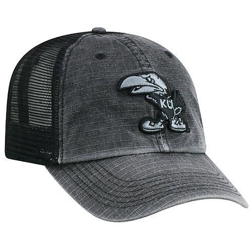 Men's Top of the World Kansas Jayhawks Ripstop Cap