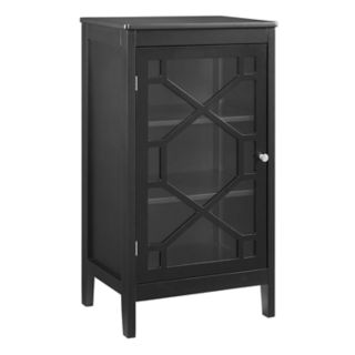 Linon Felicia Geometric Storage Cabinet
