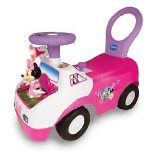 Disney's Minnie Mouse Dancing Light & Sound Activity Ride-On Vehicle by Kiddieland
