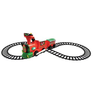 Disney's Mickey & Minnie Mouse 2-in-1 Christmas Train by Kiddieland