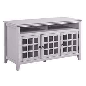 Linon Leslie Media Cabinet TV Stand