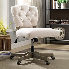 Linon Kelsey Adjustable Office Desk Chair