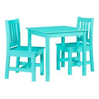 Linon Jaydn Kids Table & Chair 3-piece Set