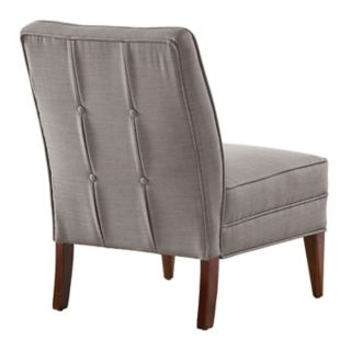 Linon Carmen Accent Slipper Chair