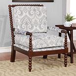 Linon Sussex Spidle Arm Chair