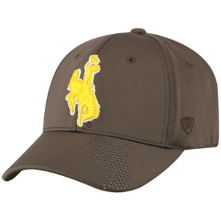 Adult Top of the World Wyoming Cowboys Pitted Memory-Fit Cap