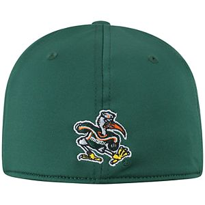 Adult Top of the World Miami Hurricanes Pitted Memory-Fit Cap