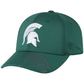 Adult Top of the World Michigan State Spartans Pitted Memory-Fit Cap