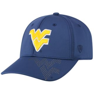 Adult Top of the World West Virginia Mountaineers Pitted Memory-Fit Cap