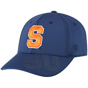 Adult Top of the World Syracuse Orange Pitted Memory-Fit Cap