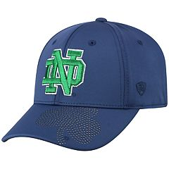 Adult Top of the World Notre Dame Fighting Irish Pitted Memory-Fit Cap