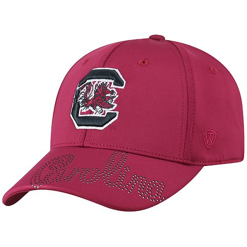 Adult Top of the World South Carolina Gamecocks Pitted Memory-Fit Cap
