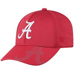 Adult Top of the World Alabama Crimson Tide Pitted Memory-Fit Cap
