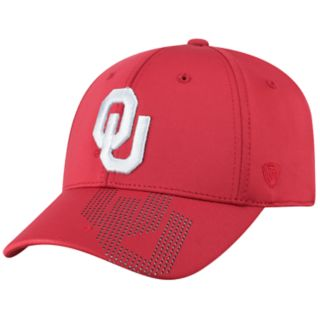 Adult Top of the World Oklahoma Sooners Pitted Memory-Fit Cap
