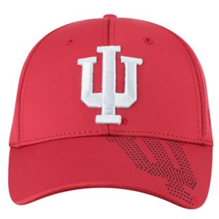 Adult Top of the World Indiana Hoosiers Pitted Memory-Fit Cap