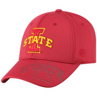 Adult Top of the World Iowa State Cyclones Pitted Memory-Fit Cap