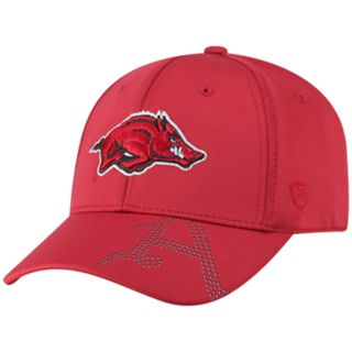 Adult Top of the World Arkansas Razorbacks Pitted Memory-Fit Cap