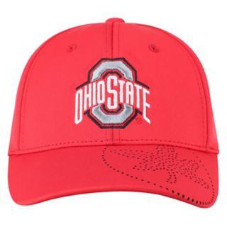 Adult Top of the World Ohio State Buckeyes Pitted Memory-Fit Cap