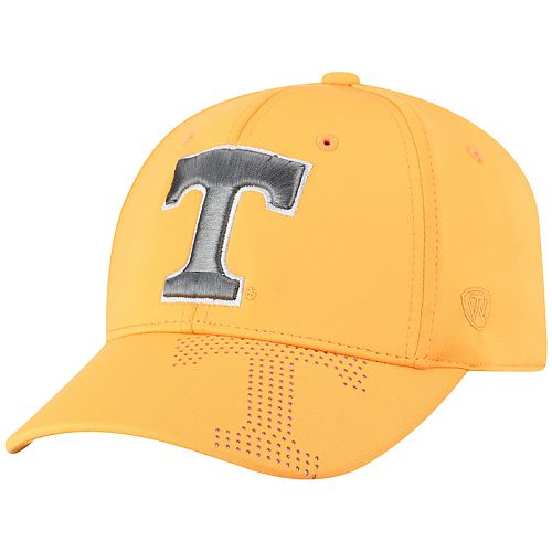 Adult Top of the World Tennessee Volunteers Pitted Memory-Fit Cap