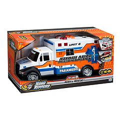 Road Rippers 14-in. Rush & Rescue Ambulance Car
