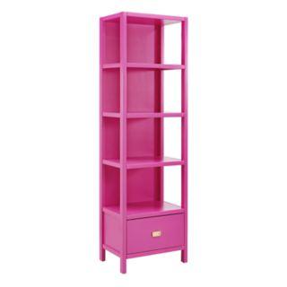 Linon Paige 4-Shelf Bookcase
