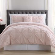 Truly Soft Arrow Pleated Comforter Bedding Set