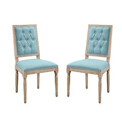 Linon Avalon Tufted Dining Chair 2-piece Set