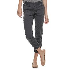 Petite SONOMA Goods for Life™ Convertible Zipper Jogger Pants