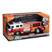 Road Rippers 14-in. Rush & Rescue Hook & Ladder Fire Truck