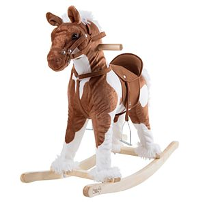 Happy Trails Clydesdale Rocking Horse Ride-On