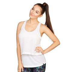Women's Colosseum Breeze Mesh Overlay Tank
