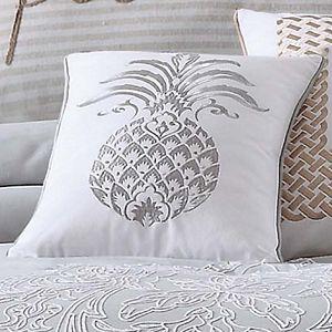 Tropical Plantation Pineapple Throw Pillow