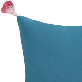 Coco Paradise Dip-Dye Tassel Throw Pillow