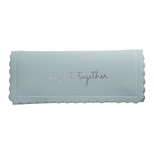 "LC Lauren Conrad ""Keep It Together"" Dinosaur Travel Jewelry Roll"