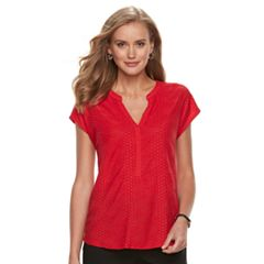 Women's Dana Buchman Textured Top