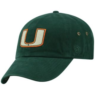 Adult Top of the World Miami Hurricanes Reminant Cap