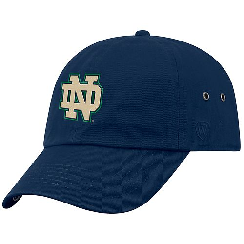 Adult Top of the World Notre Dame Fighting Irish Reminant Cap