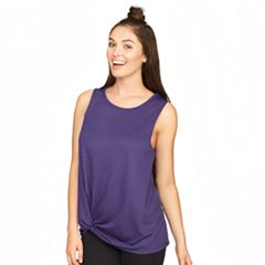 Women's Colosseum Oasis Twist Hem Tank