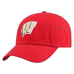 Adult Top of the World Wisconsin Badgers Reminant Cap