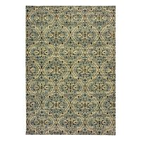 StyleHaven Revere Floral Panel Rug