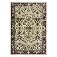 StyleHaven Revere Traditional Framed Floral Rug