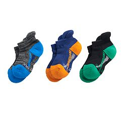 Baby / Toddler Boy Stride Rite 3-pack Mason Made2Play No-Show Socks
