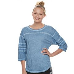 Juniors' SO® Varsity Tunic Tee