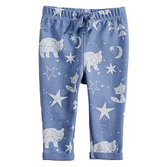 Baby Girl Jumping Beans® Graphic Rolled Cuff Pants